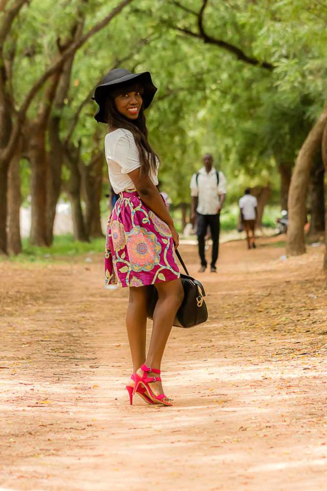 Lomé selon Mlle Trysha.