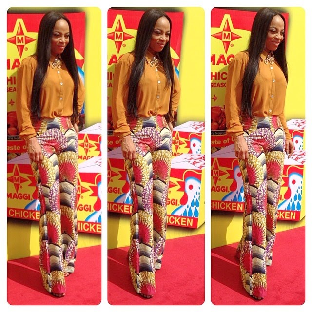 Toke-Makinwa-Becomes-The-New-Face-Of-Maggi-Chicken-2014-AlabamaU2