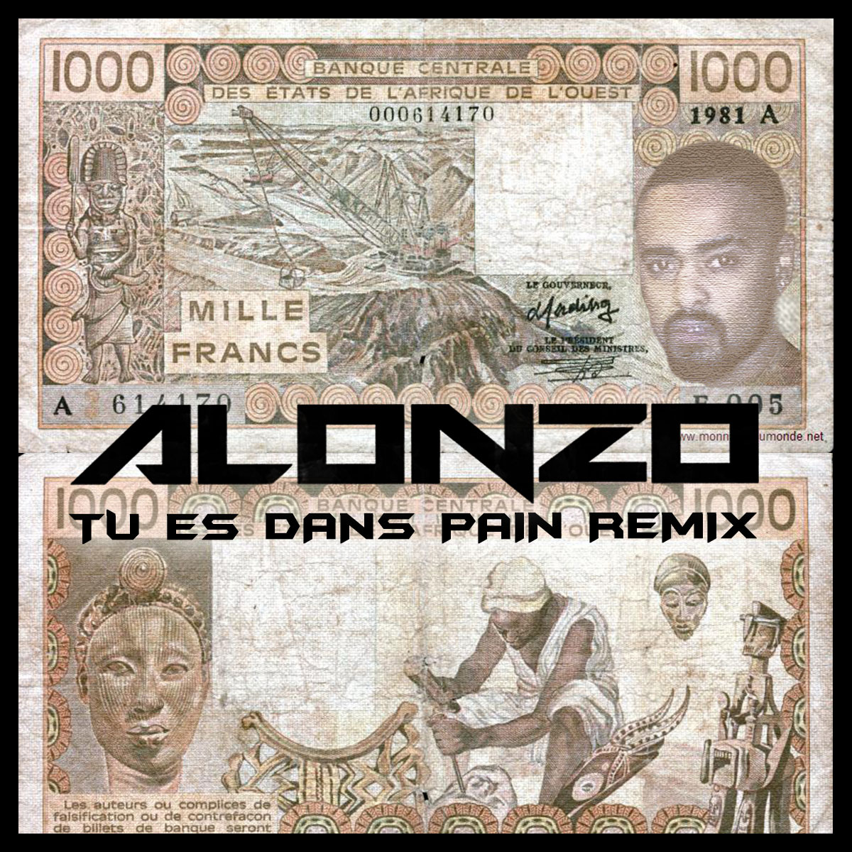 (Actu-Client) Le rappeur français ALONZO remixe «Tu es dans pain» de KIFF NO BEAT ! + Interview TRACE TV.