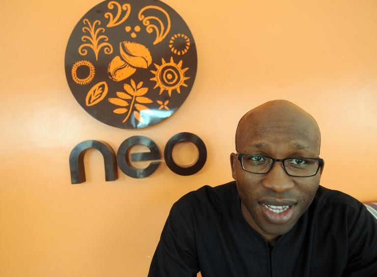 Le fondateur de la chaîne de café NEO