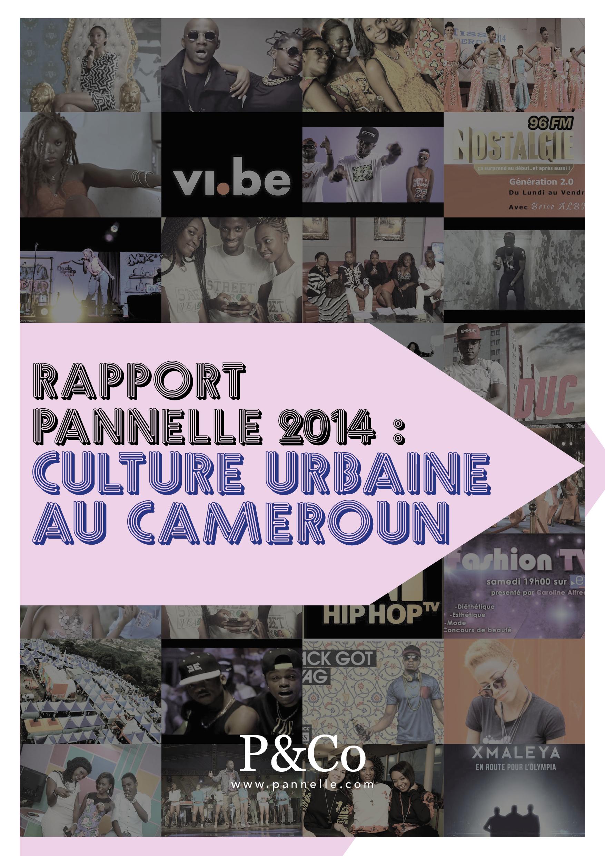 Publication du Rapport PANNELLE 2014 sur la culture urbaine au Cameroun