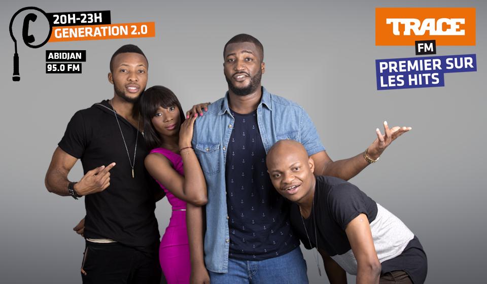 TRACE FM est la radio musicale leader sur les 15-34 ans en Côte d'Ivoire